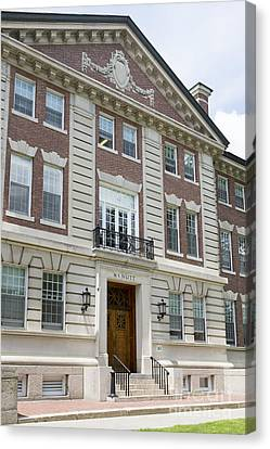 Dartmouth College Mcnutt Building Canvas Print by Edward Fielding