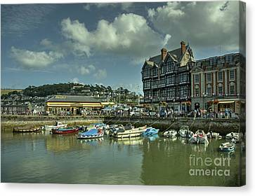 Dartmouth Station  Canvas Print by Rob Hawkins