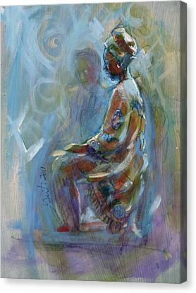Dashiki Canvas Print by Gertrude Palmer