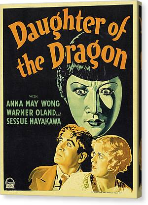 Daughter Of The Dragon 1931 Canvas Print