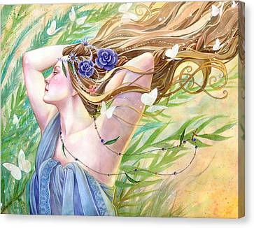 Daughter Of The King Canvas Print by Sara Burrier