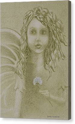 Daughter Of The Wind Canvas Print