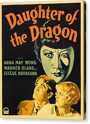 Daughters Of The Dragon 1930 Canvas Print