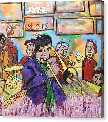 Dave Dickey Big Band Canvas Print
