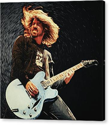 Dave Grohl Canvas Print