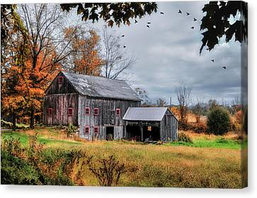 Davenport Farm - Connecticut Scenic Canvas Print