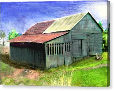 Dave's Barn Canvas Print