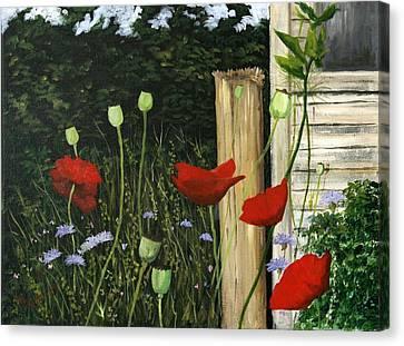 Dave's Garden Canvas Print