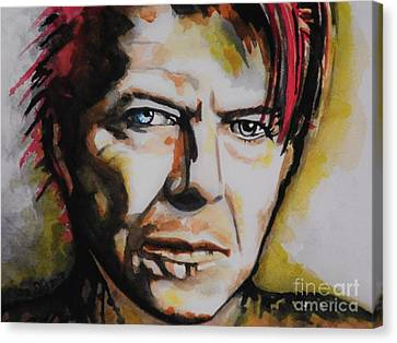 David Bowie Canvas Print by Chrisann Ellis