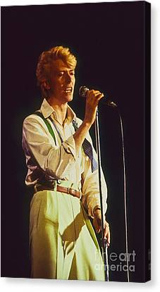 David Bowie Hot Pants Canvas Print by Philippe Taka