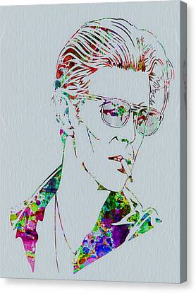 David Bowie Canvas Print by Naxart Studio
