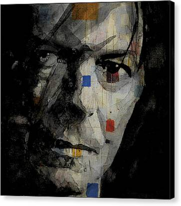 David Bowie Retro  Canvas Print by Paul Lovering