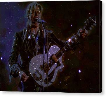 David Bowie Space Oddity  Canvas Print by Scott Wallace