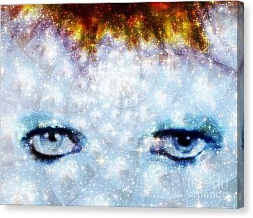 David Bowie / Stardust Canvas Print