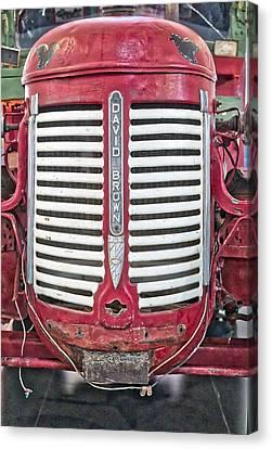 David Brown Tractor - Canberra - Australia Canvas Print by Steven Ralser