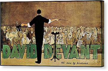 David Devant Poster C1910 Canvas Print by Granger