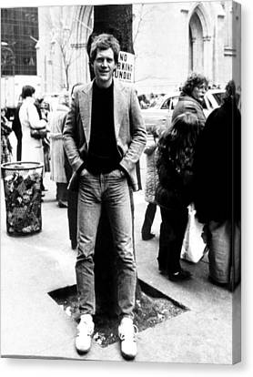 David Letterman, 010882 Canvas Print