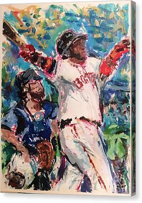David Ortiz, Big Papi, Boston Red Sox  Canvas Print by Russ Potak
