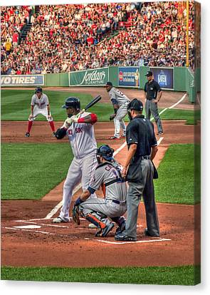 David Ortiz - Boston Red Sox  Canvas Print