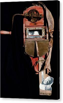 David Smith Canvas Print by Bill Bernsen