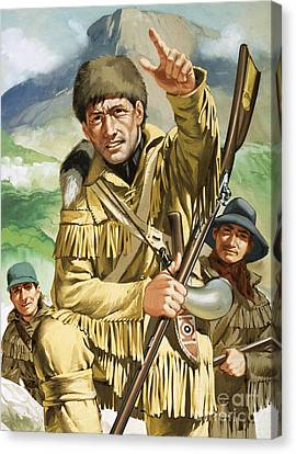 Davy Crocket Canvas Print by Angus McBride