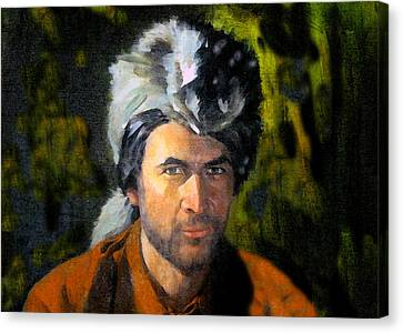 Davy Crockett Canvas Print by David Lee Thompson