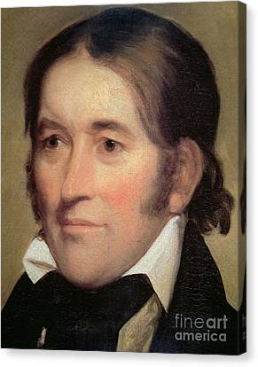 Davy Crockett  Canvas Print by John Neagle