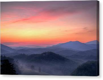 Dawn Arrives Canvas Print by Zev Steinhardt