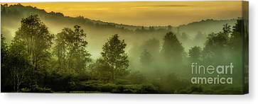 Canvas Print featuring the photograph Dawn At Wildlife Management Area by Thomas R Fletcher