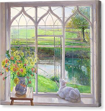 Dawn Breeze Canvas Print by Timothy Easton