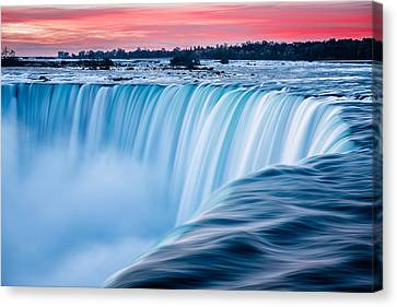 Dawn Flow Canvas Print