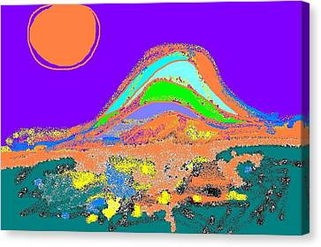 Dawn II Canvas Print by Beebe  Barksdale-Bruner