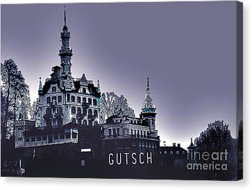 Dawn In Lucerne Canvas Print
