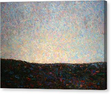 Dawn Canvas Print by James W Johnson