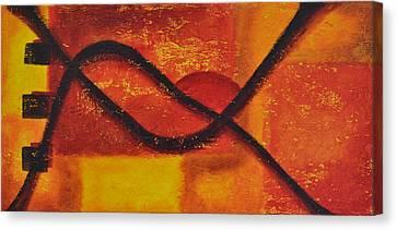 Dawn Canvas Print by Leana De Villiers