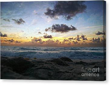 Dawn Of A New Day 141a Canvas Print by Ricardos Creations