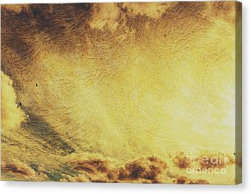 Aging Canvas Print - Dawn Of A New Day Texture by Jorgo Photography - Wall Art Gallery