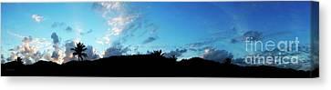 Dawn Of A New Day Treasure Coast Florida Seascape Sunrise 765 Canvas Print