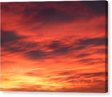 Dawn Of Color Canvas Print