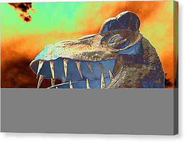 Dawn Of Really Old Canvas Print by Richard Henne