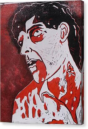Dawn Of The Dead Print 4 Canvas Print by Sam Hane