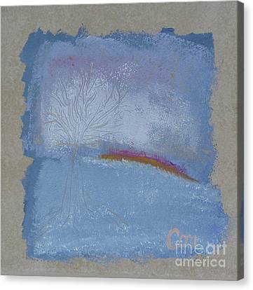 Dawn Of Winter Canvas Print