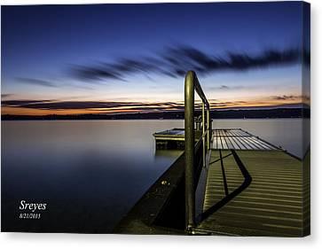 Skaneateles Lake Canvas Print - Dawn On Skaneateles Lake by Scott Reyes