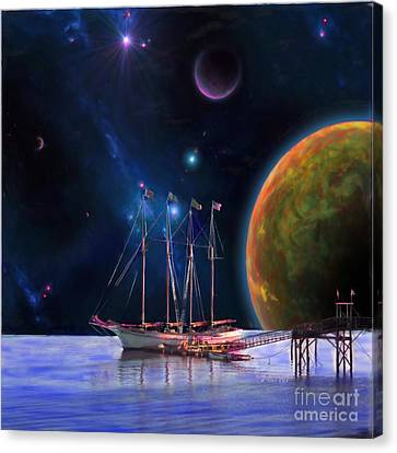 Voyage Of The Dawn Treader Painting For Sale