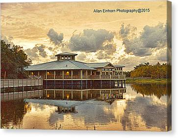 Day Break At Green Cay Florida Canvas Print