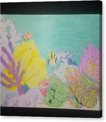 Day Dream Canvas Print by Rhonda Nash