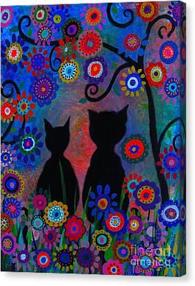 Day Dreamers Canvas Print by Pristine Cartera Turkus