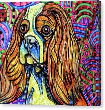 Animal Artist Canvas Print - Day Dreaming by Robert Wolverton Jr