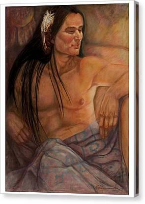 Day Hawk Canvas Print