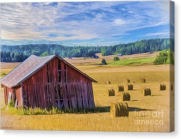 Day Of August Canvas Print